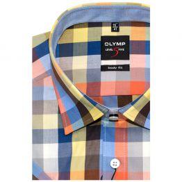Сорочка приталенная Olymp, короткий рукав