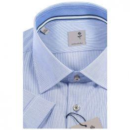 Сорочка приталенная Seidensticker, короткий рукав